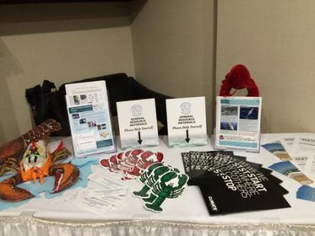 FSRS information table at the 2016 Annual Conference