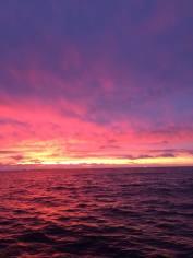 Sampling at sunrise never gets old